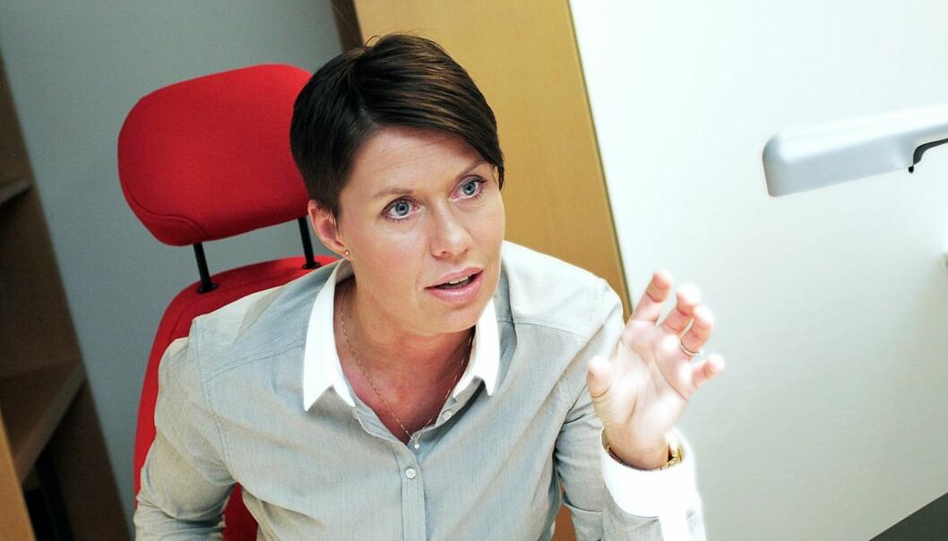 NJ-advokat Ina Lindahl er ikke imponert. Foto: Birgit Dannenberg