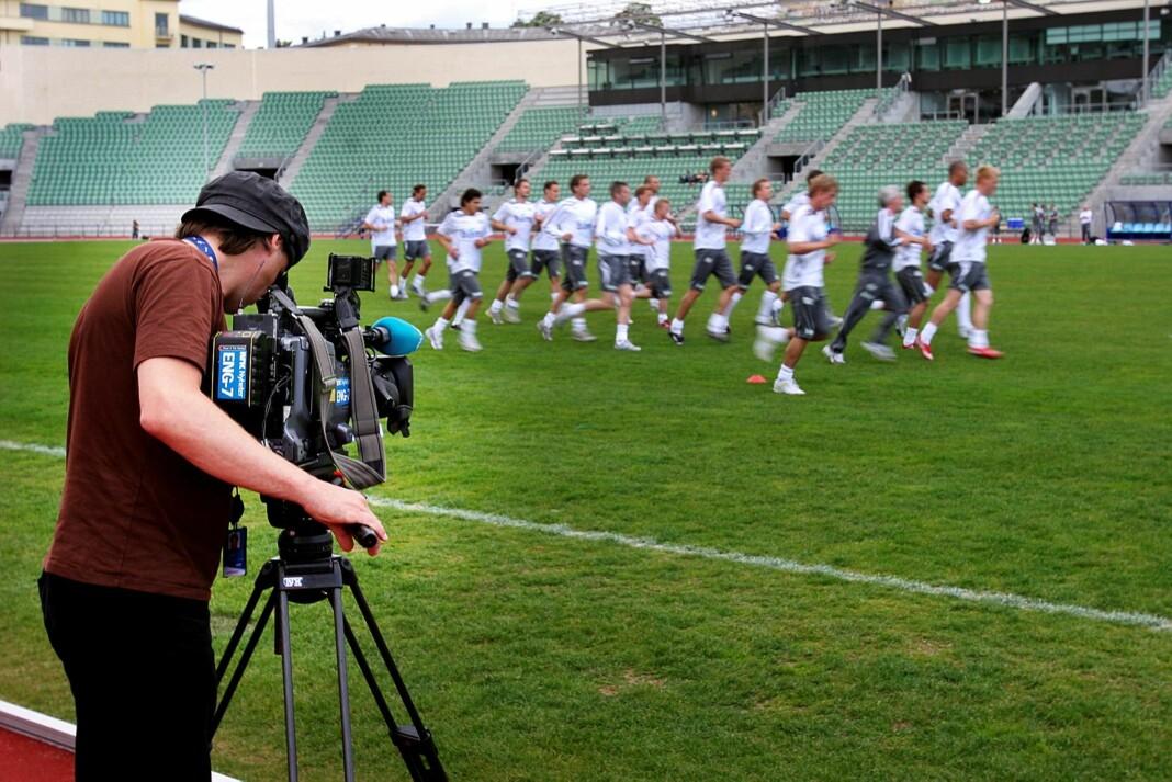 NRK styrker sporten med ti medarbeidere. Målet er å redusere bruken av midlertidige ansatte. Arkivfoto: Kathrine Geard
