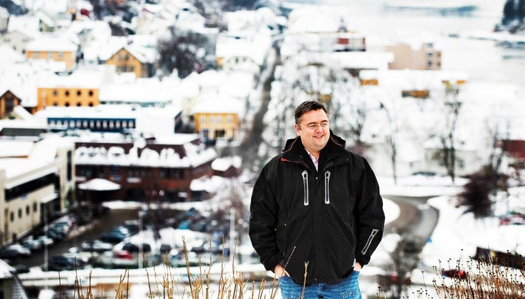 Kjetil Stormark forlater Egersund. Foto: Jan Inge Haga