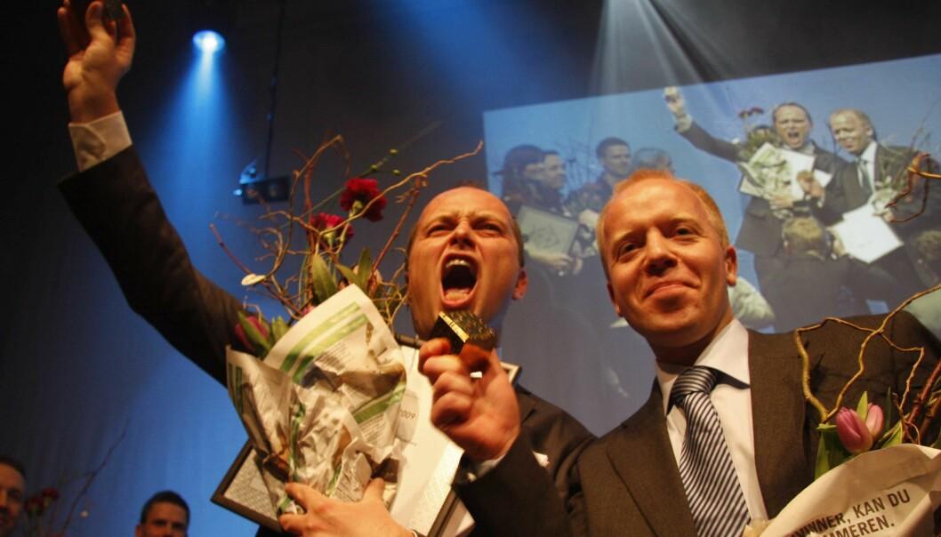 Gøran Skaalmo og Trond Sundnes. Foto: Martin Huseby Jensen