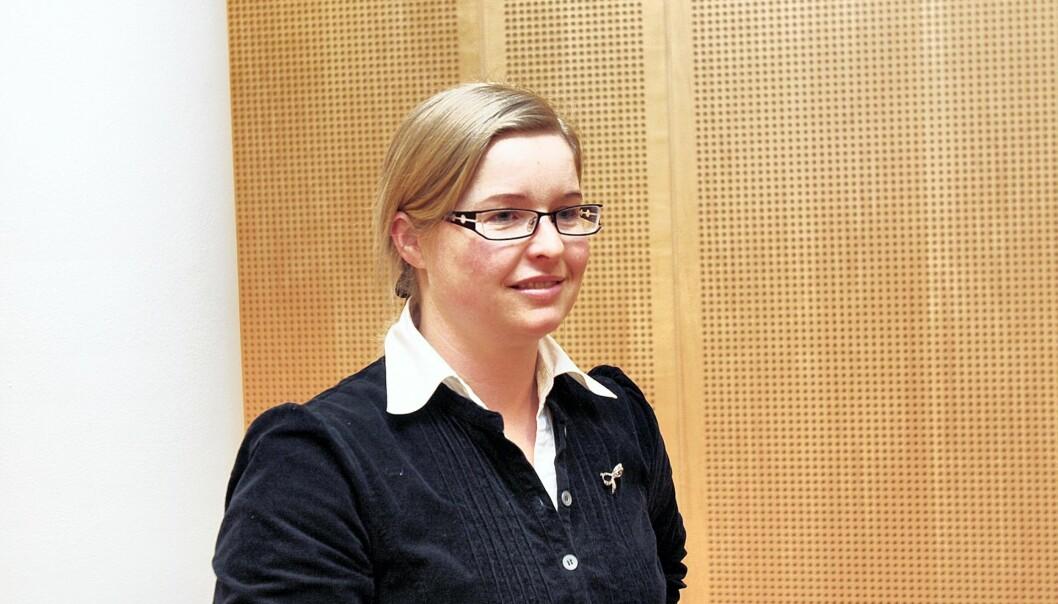 May Andrine Gran. Foto: Birgit Dannenberg