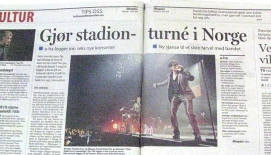 Aftenposten 1. mars 2010.