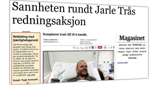 Jarle Trå angriper Dagbladet