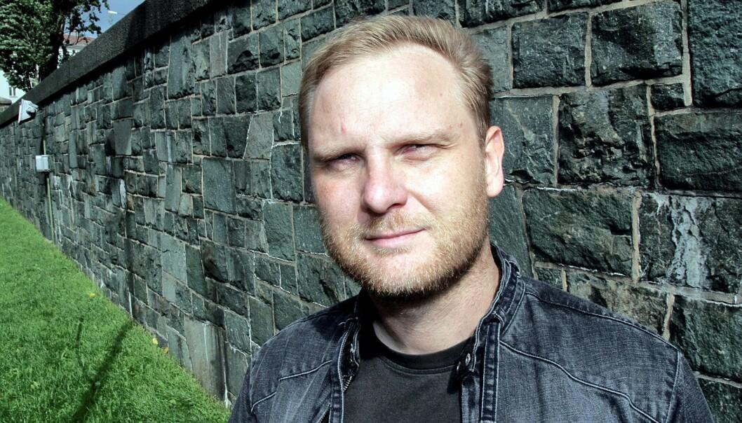 Frank Rossavik. Foto: Birgit Dannenberg