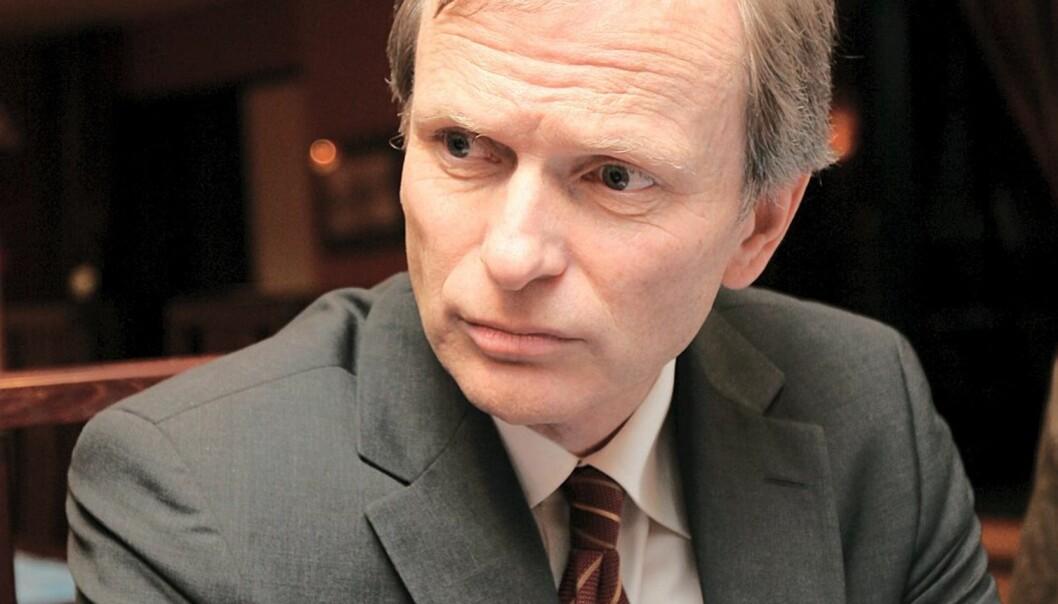 Eddas styreleder Truls Velgaard. Foto: Birgit Dannenberg