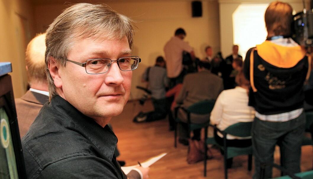Journalist i Sunnmørsposten, Kjetil Haanes. Foto: Kathrine Geard