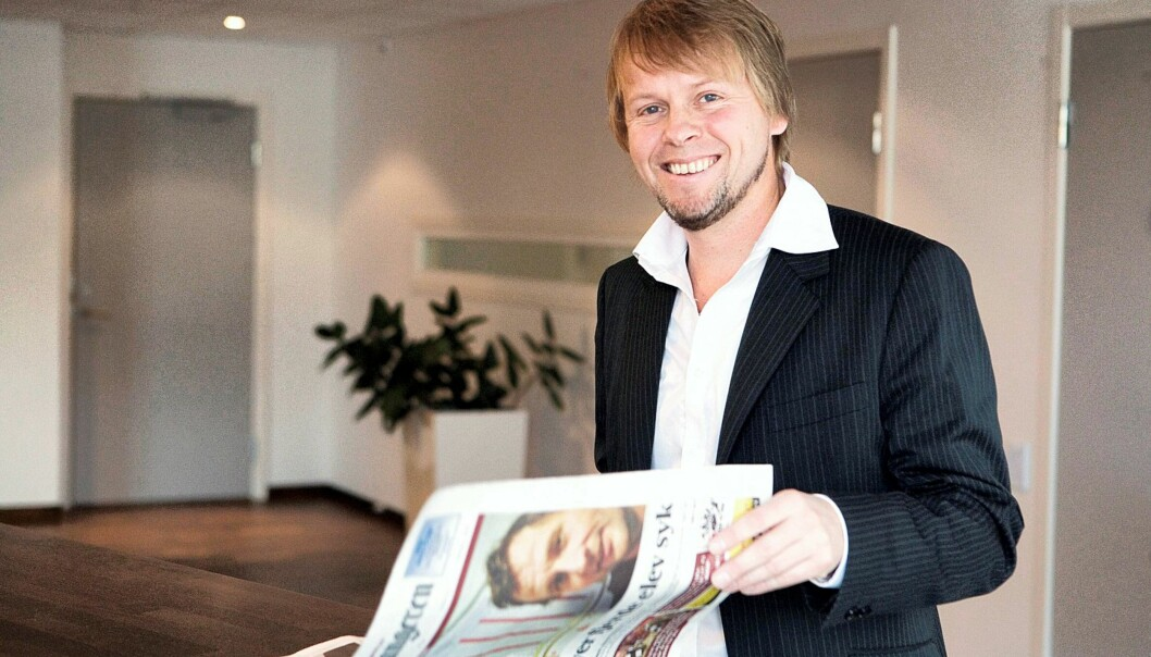 Torgeir Lorentzen. Foto: Rolf W. Marthinsen, Gjengangeren