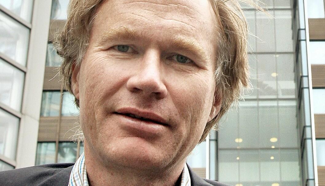 Aftenposten-journalist Halvor Tjønn har i mange år vært korrespondent i Moskva. Foto: Kathrine Geard