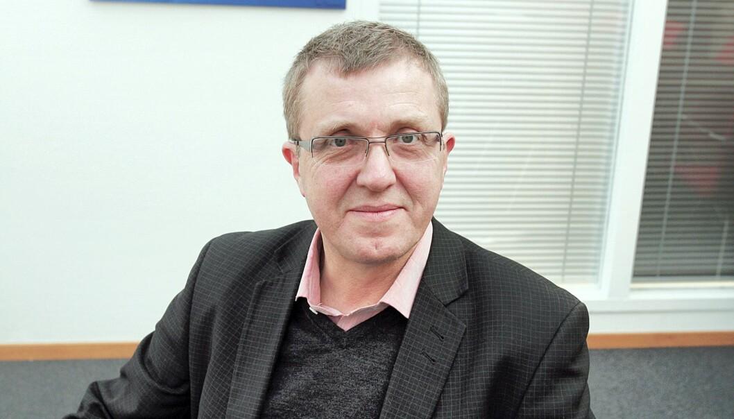 Jahn-Arne Olsen er generalsekretær i Norsk Journalistlag. Foto: Birgit Dannenberg