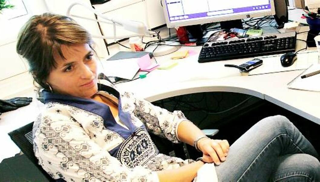 Kjersti Mo er ansvarlig redaktør i Kamille. Foto: Kathrine Geard