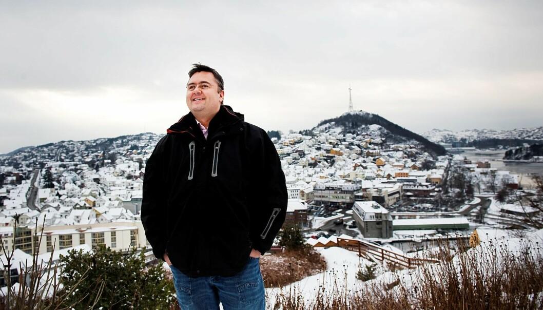 MARKANT: Kjetil Stormark har tatt til orde for å flytte industribygg fra Egersunds indre havnebasseng og erstatte dem med boliger. Dette har falt minst én bedriftsleder så tungt for brystet at han ikke vil snakke mer med redaktøren. Foto: Jan Inge Haga