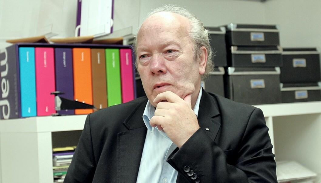 Generalsekretær Nils E. Øy i Norsk Redaktørforening er ikke overrasket over at Aasheim trakk seg. Foto: Birgit Dannenberg