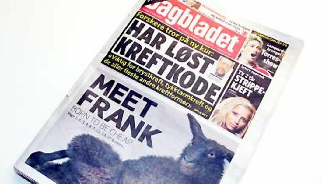 Dagbladet 2. februar 2009.