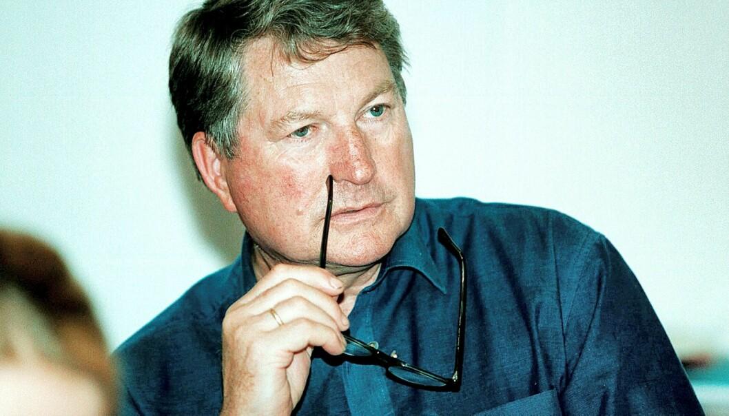 Knut S. Evensen er redaktør i Jarlsberg Avis. Foto: Birgit Dannenberg