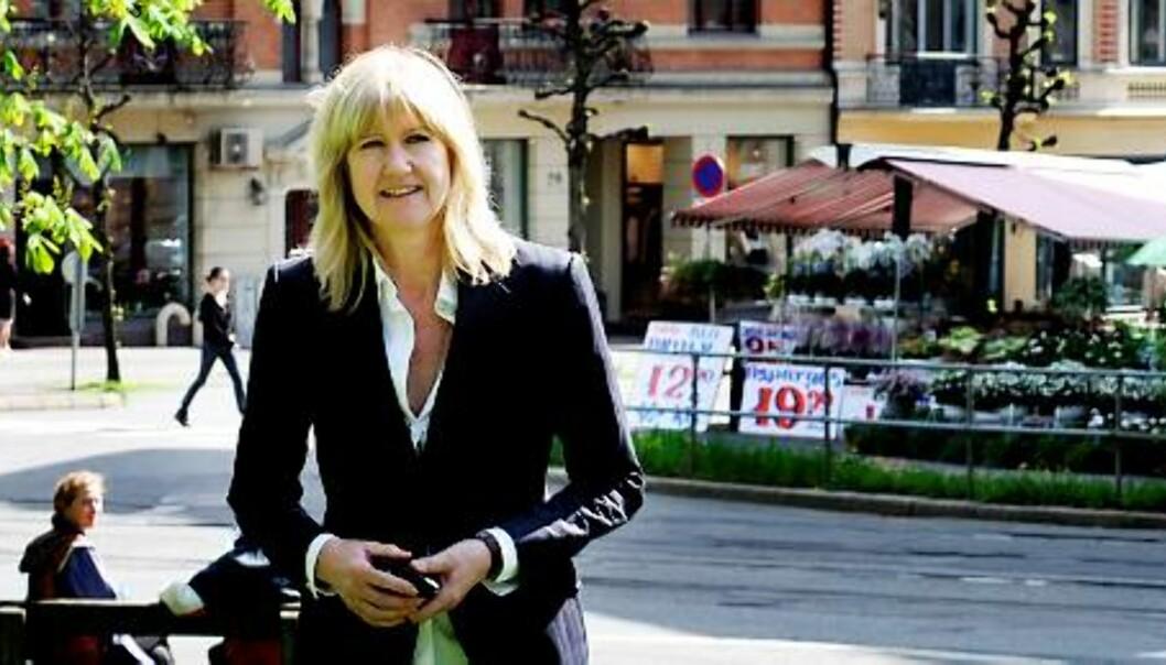 GOD ERFARING: Anne Grete Preus er fornøyd med pressen, selv om hun opplevde å bli spurt om hva Jens Bjørneboe mente om platen hennes i 1988. Foto: Birgit Dannenberg