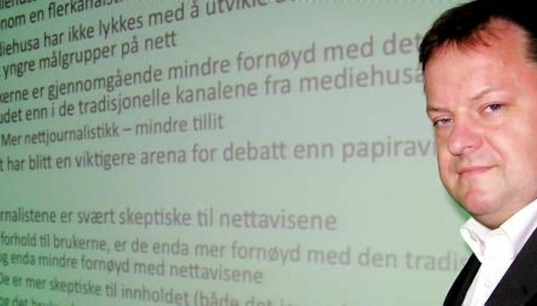 Arne Krumsvik. Foto: Bjørn Åge Mossin