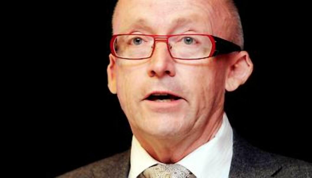 Kjell Aamot er konsernsjef i Schibsted. Foto: Birgit Dannenberg