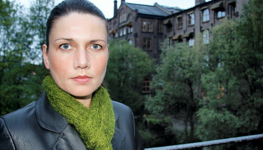 Heidi Nordby Lunde. Foto: Espen Moe