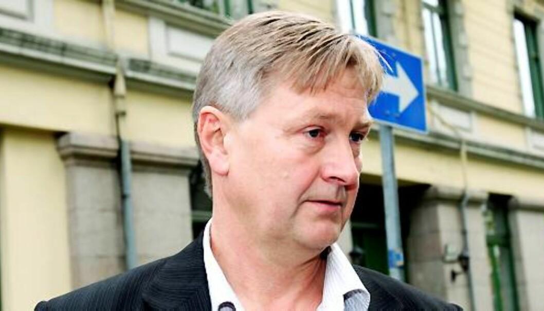 Kjetil Haanes er nestleder i Norsk Journalistlag. Foto: Birgit Dannenberg