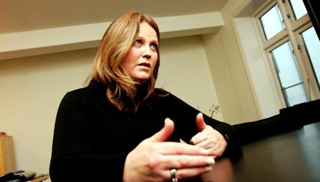 Bente Klemetsdal, direktør i SBS. Foto: Birgit Dannenberg