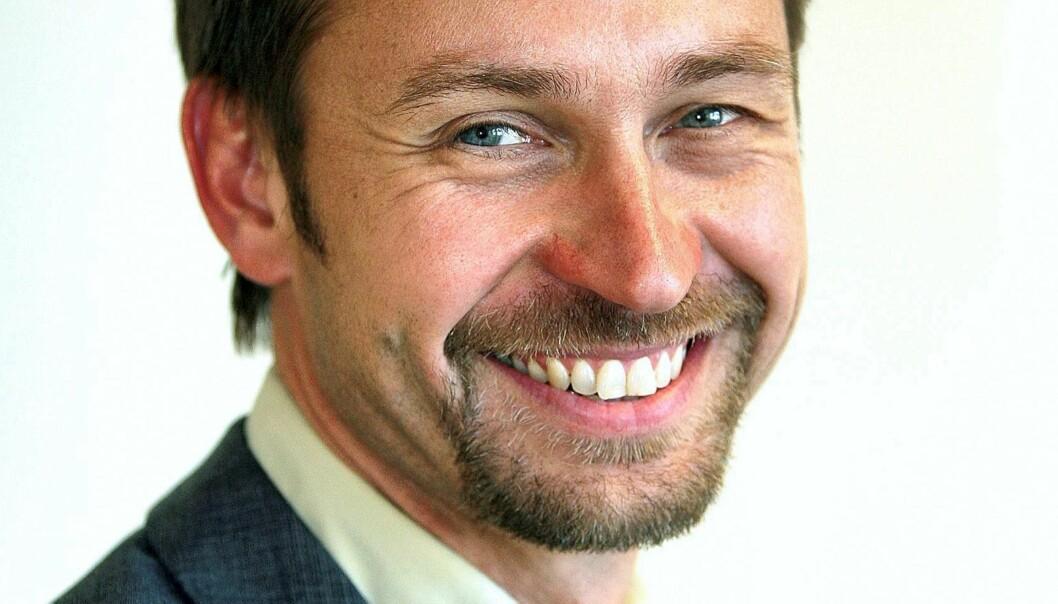 Varden-redaktør Lars Kise. Foto: Per-Åge Eriksen
