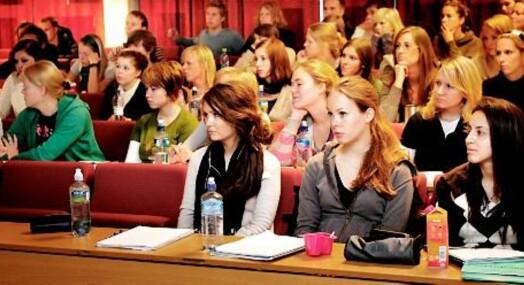 Journalistskole med økt tilstrømning