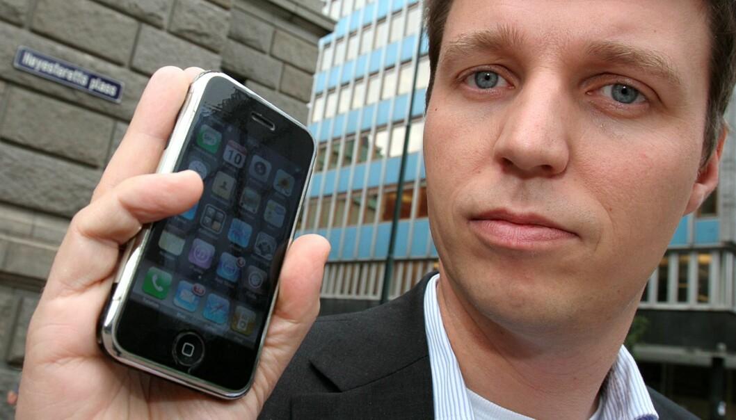 Administrerende direktør Jo Christian Oterhals i VG Multimedia. Foto: Birgit Dannenberg