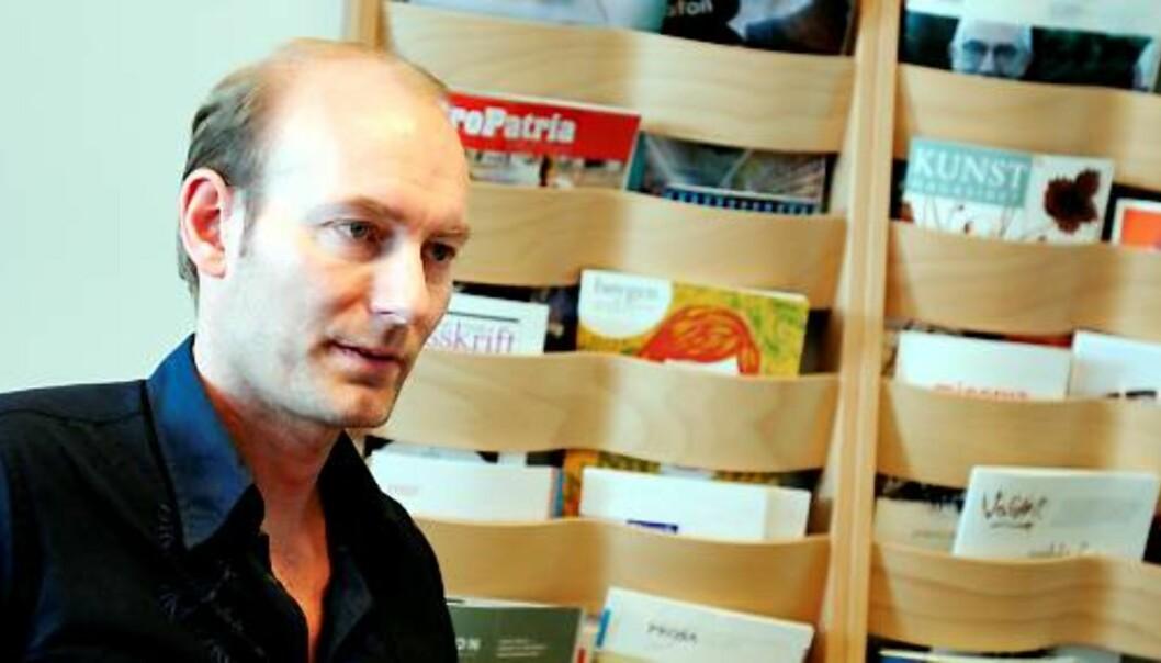 Knut Olav Åmås. Foto: Birgit Dannenberg