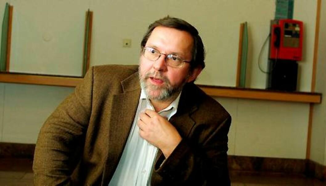 Harald Stanghelle, politisk redaktør i Aftenposten, tar dommen til etterretning. Foto: Birgit Dannenberg