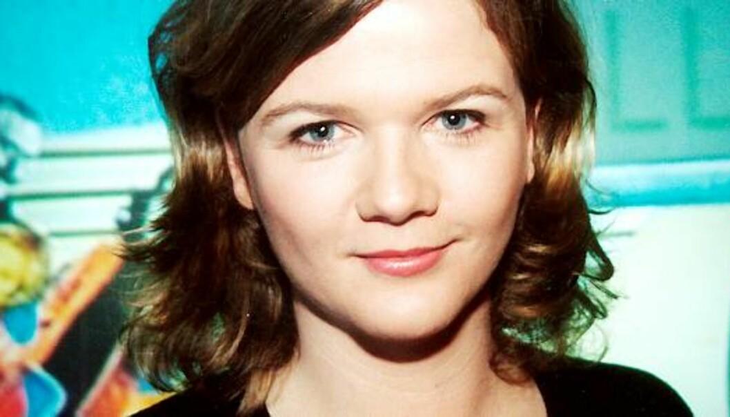 Programleder for Store Studio, Anne Sandvik Lindmo, er en av få journalister som måtte skatte for en inntekt på over millionen i 2007. Foto: NRK/Ole Kaland