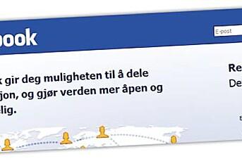 Advarer mot Facebook-kilder