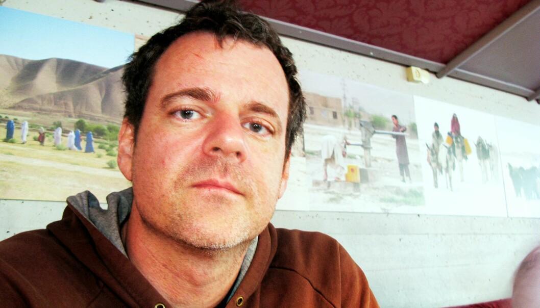 Lars Åke Andersen. Foto: Martin Huseby Jensen