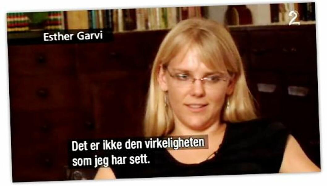 """Fra dokumentaren """"Sultbløffen"""". Skjermdump: TV 2"""
