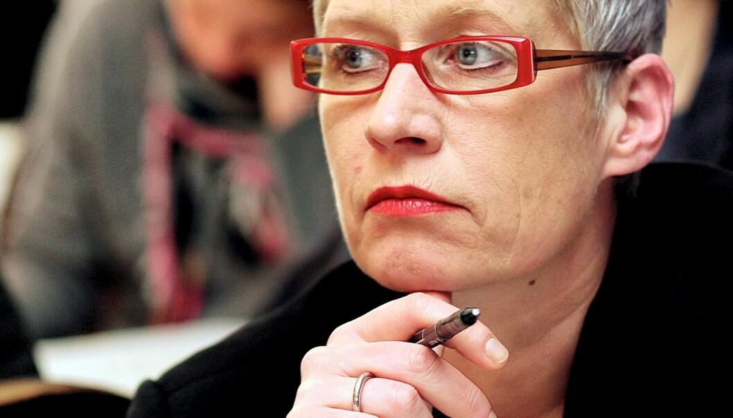 Sjefredaktør i Dagbladet Anne Aasheim opplever kraftig opplagsfall. Foto: Birgit Dannenberg