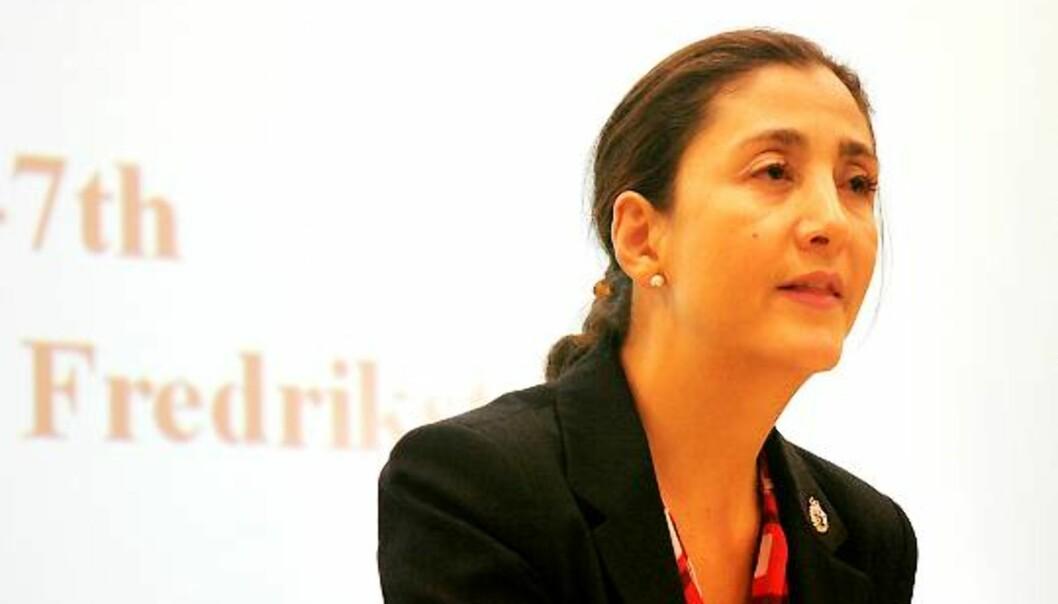 Ingrid Betancourt. Foto: Kathrine Geard