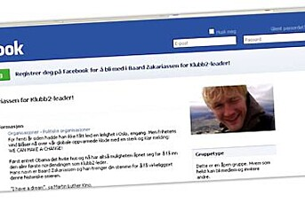 Fagforeningskamp på Facebook