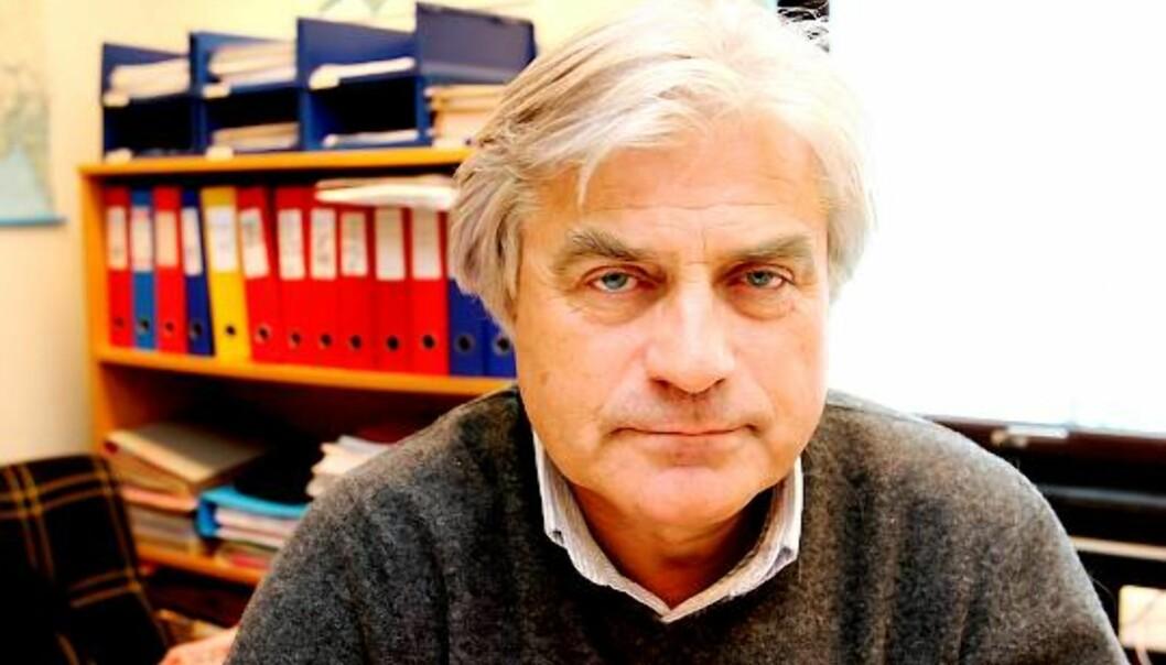 Gunnar Bodahl-Johansen er verneombud og styremedlem på Institutt for Journalistikk. Foto: Birgit Dannenberg