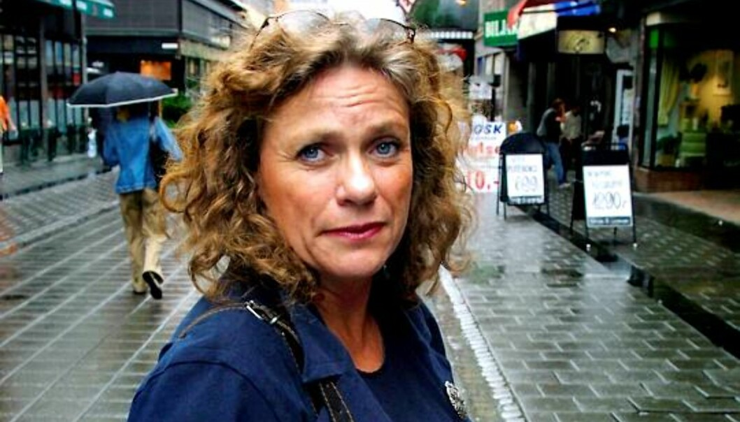 Bente Sabel er arbeidsmiljøekspert i Norsk Journalistlag. Foto: Kathrine Geard