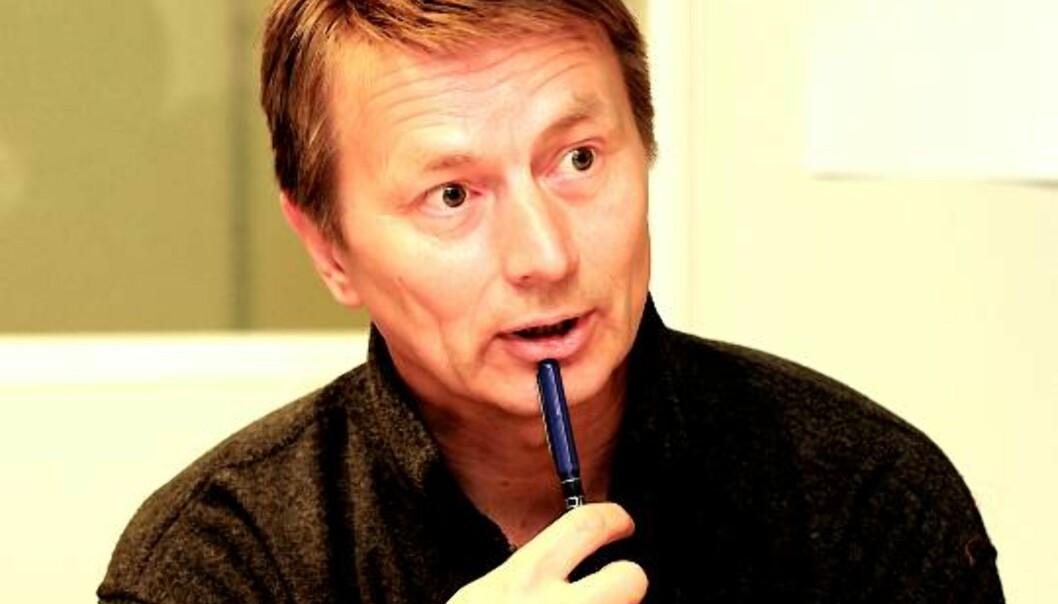 Nordlys-redaktør Hans Kristian Amundsen. Foto: Birgit Dannenberg