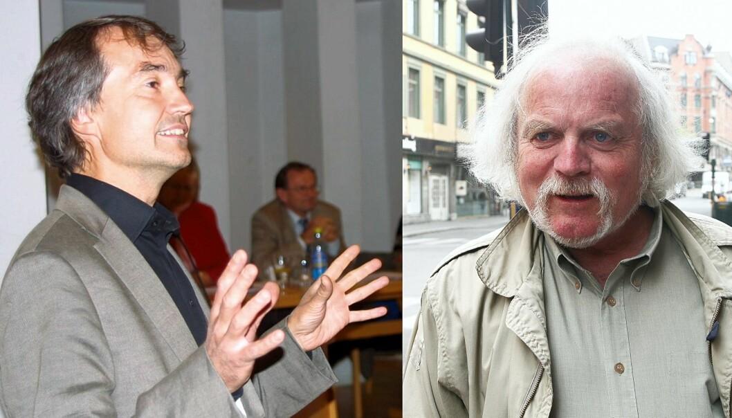 Aslak Bonde og Jan Erik Smilden. Fotomontasje: Kathrine Geard og Birgit Dannenberg