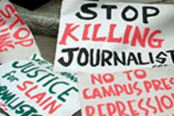 Støtter filippinske journalister
