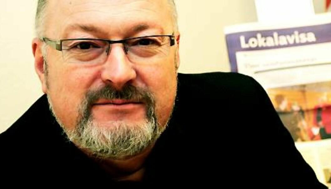 Generalsekretær Rune Hetland i Landslaget for Lokalaviser. Foto: Birgit Dannenberg