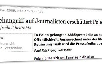 Avlyttingsskandale i Polen