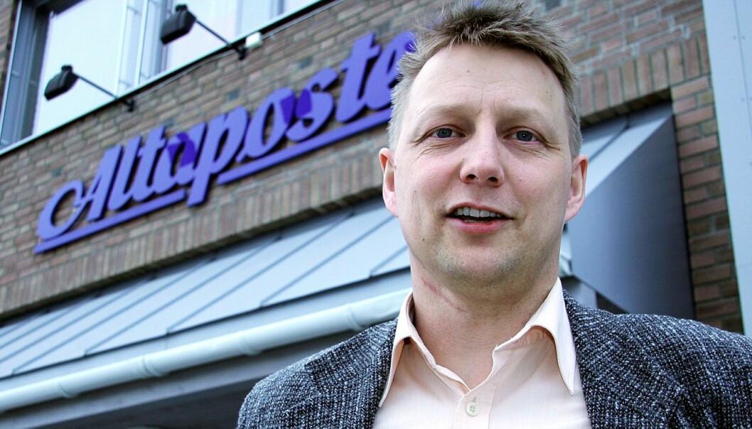 Direktør i Altaposten, Tor Sara. Foto: Rune Østlyngen