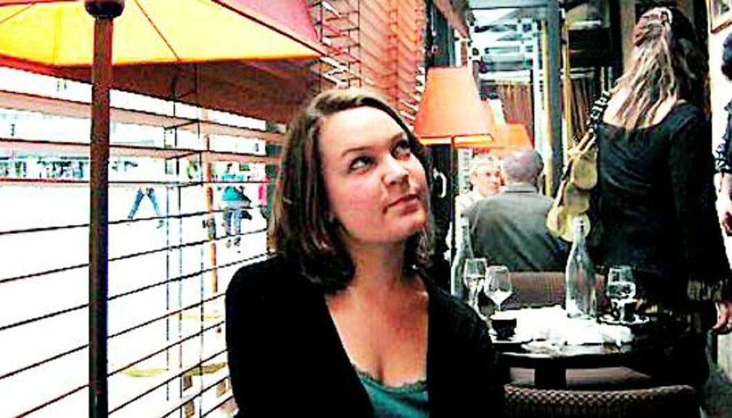Julie Ragnhild Andersen. Foto: Elisabeth Maria Neuhaus