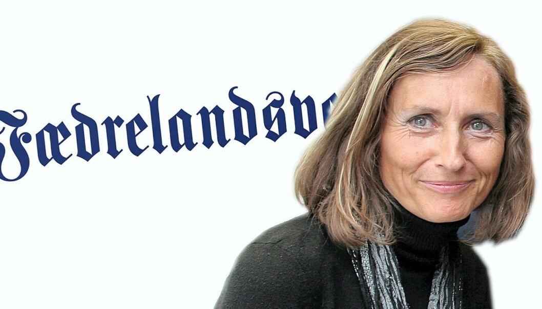 Marianne Gauslaa. Foto: Kathrine Geard. Montasje: Birgit Dannenberg