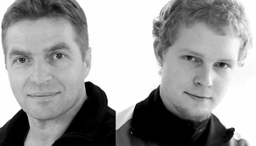Johan Brox i Dag og Tid og Johan Brox i Klassekampen. Foto: Privat og Tom Henning Bratlie/Klassekampen