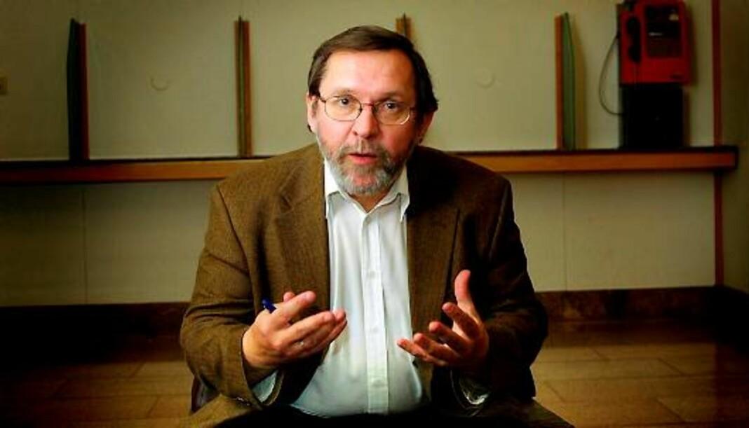 Redaktør Harald Stanghelle i Aftenposten har stor sympati med Per Sandbergs ønske om å legge fram sin sak, men liker ikke alt sirkuset. Arkivfoto: Birgit Dannenberg