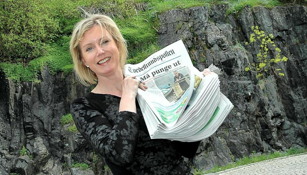 Marianne Drivdal. Foto: Medienettverket