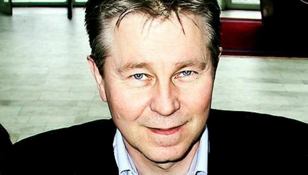 Arve Løberg er sjefredaktør i Trønder-Avisa. Foto: Bjørn Åge Mossin